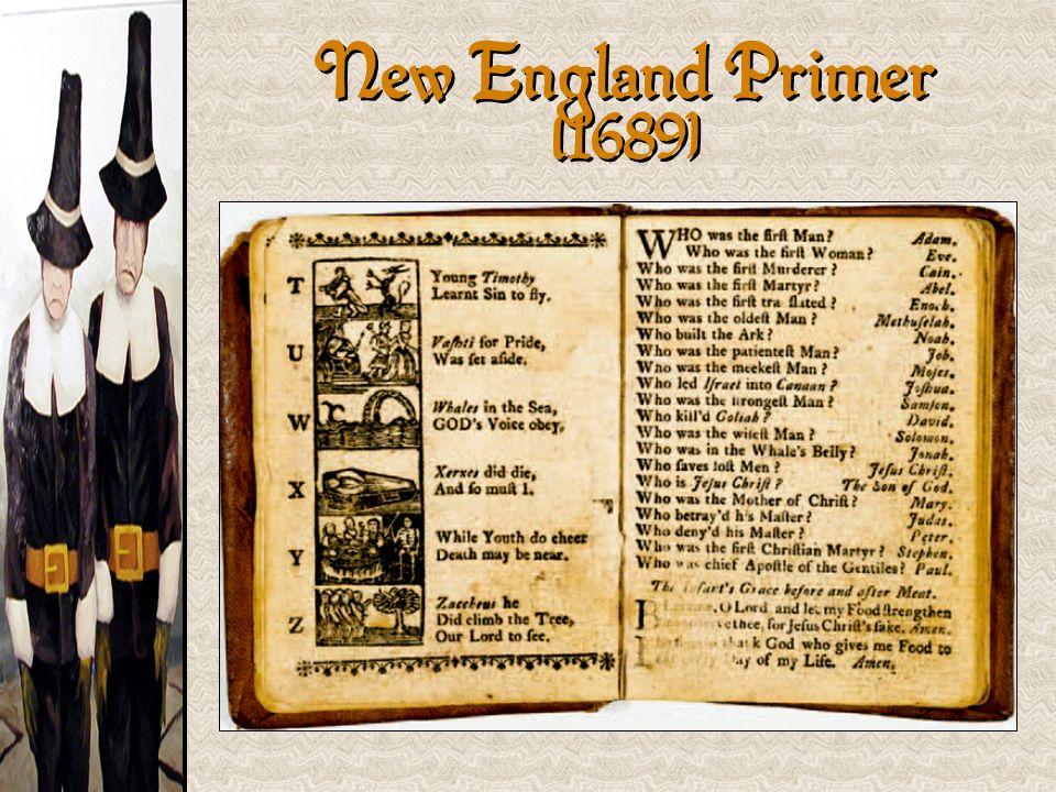 New England Primer [1689]